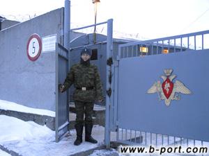 В помощь мол Въездные ворота КПП